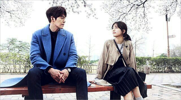 "A promotional image for Korean TV drama ""Uncontrollably Fond,"" for which China's Hallyu ban is attributed for significantly lowering the viewership rating among Chinese fans, is shown. (KBS2)"