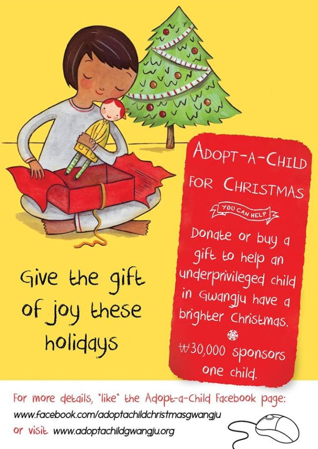 Expats run gift drive for local orphanages