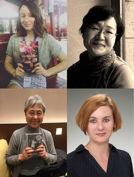 Winners of the LTI Korea Translation Awards Deborah Smith, Cho Kyung-hye, Kim Soon-hee and Katarzyna Rozanska (The Literature Translation Institute of Korea)