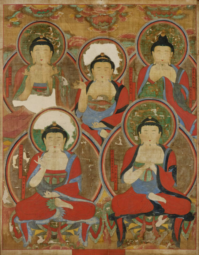 """Obuldo,"" a 18th-century Korean Buddhist painting (Courtesy of the Portland Art Museum)"
