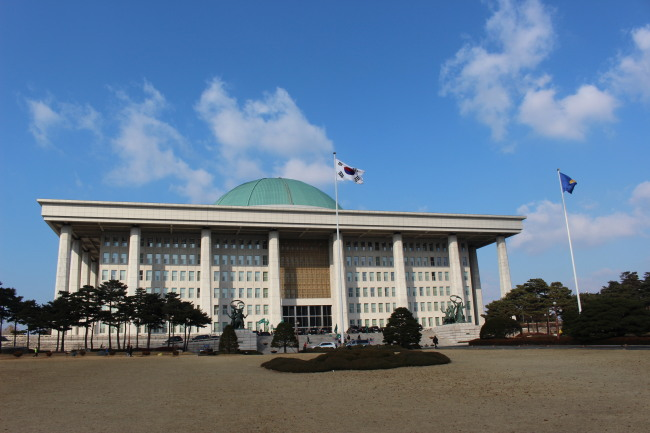 The National Assembly in Seoul (Jo He-rim/ The Korea Herald)
