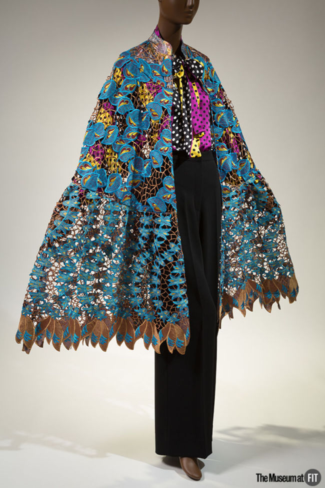 Duro Olowu, ensemble, Fall 2012, England. Gift of Duro Olowu, 2016.65.1. (Eileen Costa/The Museum at FIT)
