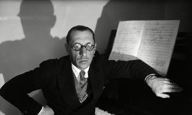 Russian composer, pianist and conductor Igor Stravinsky (Courtesy of SPO)