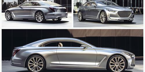 "Genesis' concept car ""Vision G"""