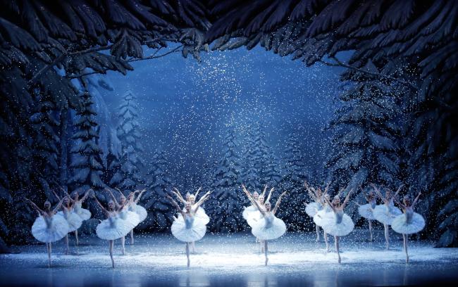 "A scene from Universal Ballet's production of ""The Nutcracker"" (Universal Ballet Korea)"
