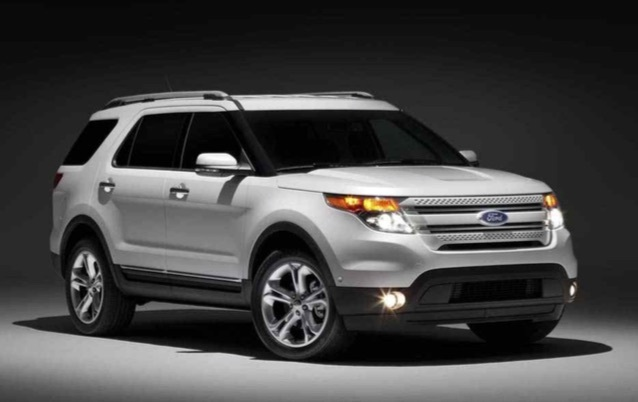 Ford SUV Explorer (The Ministry of Land, Infrastructure and Transport)