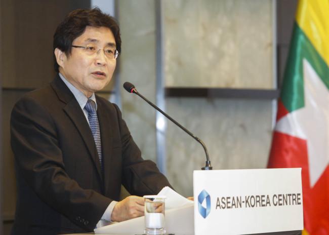 Kim Young-sun, secretary-general of the ASEAN-Korea Center (ASEAN-Korea Center)