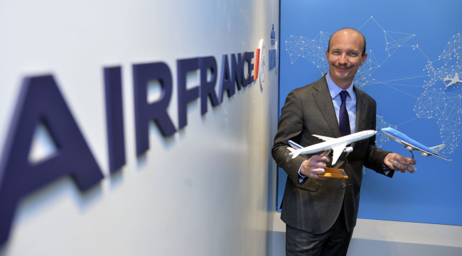 Stefan Vanovermeir, Air France-KLM's General Manager for Korea, Japan & New Caledonia (Yoon Byung-chan/The Korea Herald)
