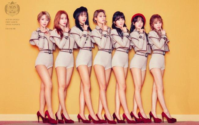 Girl group AOA (FNC Entertainment)