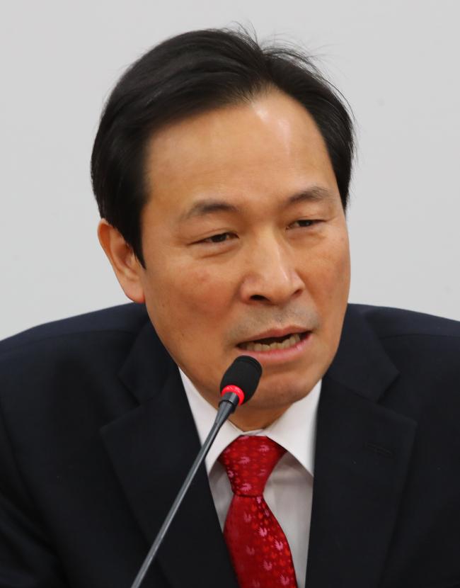 Rep. Woo Sang-ho (Yonhap)
