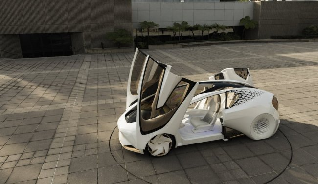 Toyota unveiled Toyota Concept-i, a future car that understands human emotions through artificial intelligence. (Toyota)