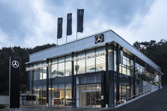 Superior Mercedes Benz Koreau0027s New Busan Exhibition Center And Service Center In  Northern Busan Opened On Thursday. (Mercedes Benz Korea)