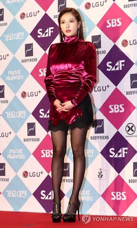 HyunA (Yonhap)