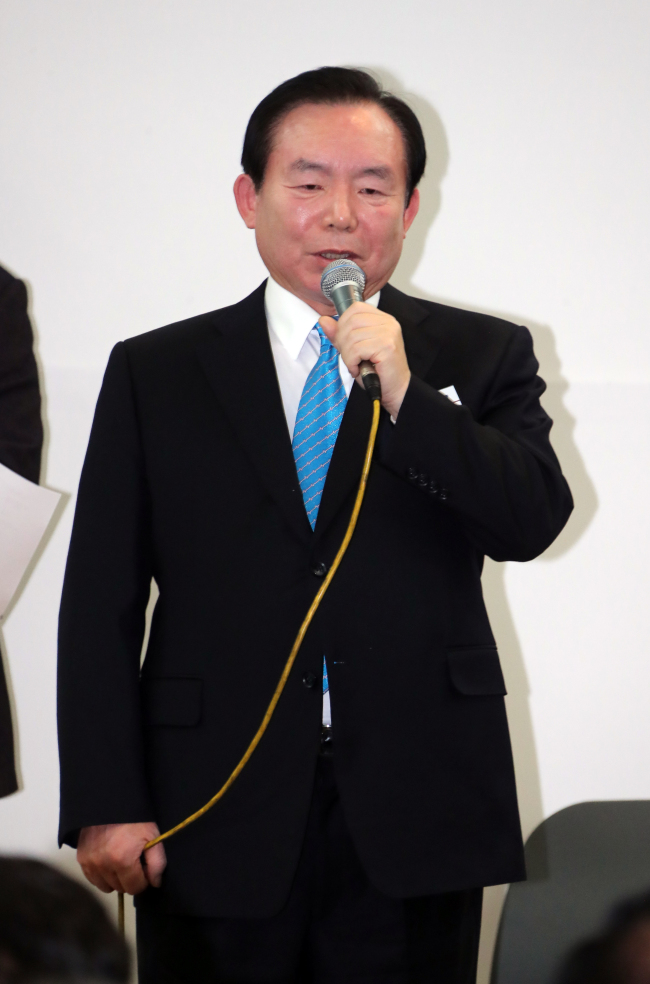 Rhee In-je of the ruling Saenuri Party (Yonhap)