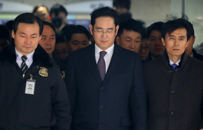 Samsung Group`s heir apparent and vice chairman of Samsung Electronics, Lee Jae-yong (Yonhap)