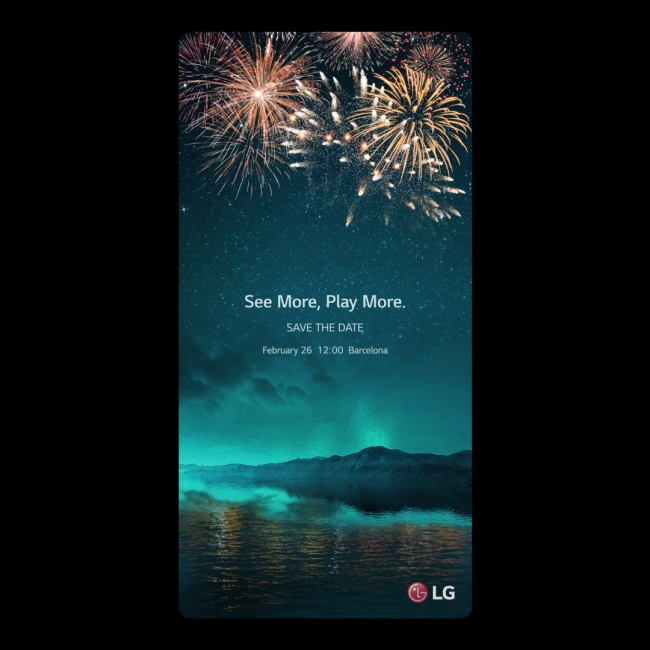 An invitation for G6 launch (LG Electronics)