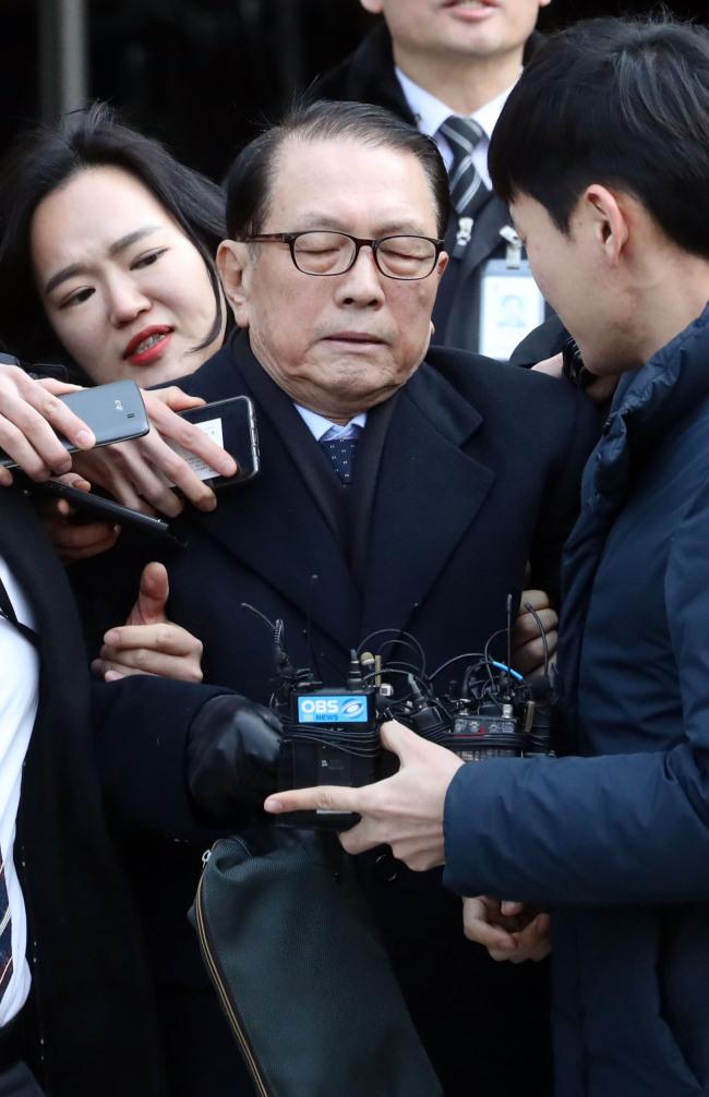 Former Presidential Chief of Staff Kim Ki-choon (Yonhap)