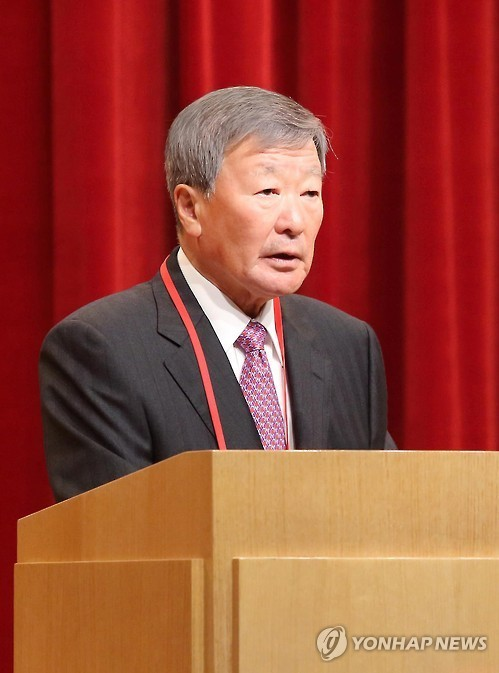 LG Group Chairman Koo Bon-moo (Yonhap file photo)