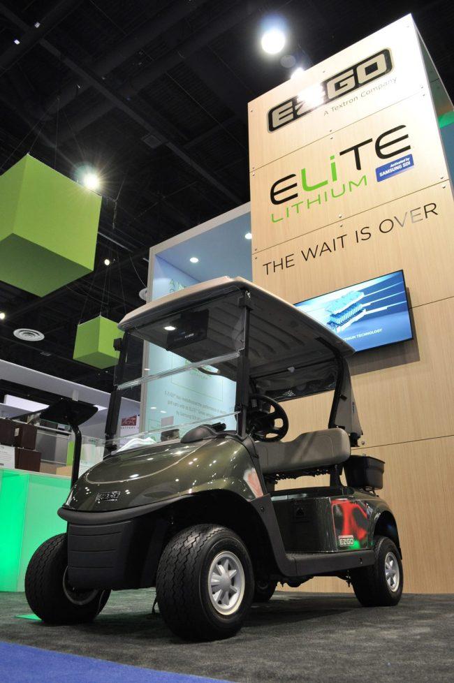 Samsung SDI Supplies Lithium Ion Batteries For E Z GO Golf Cars