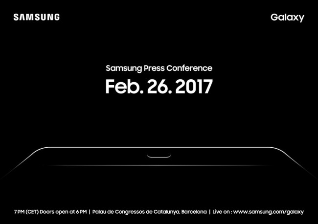 Press invitation Samsung Electronics sent out Wednesday (Samsung Electronics)