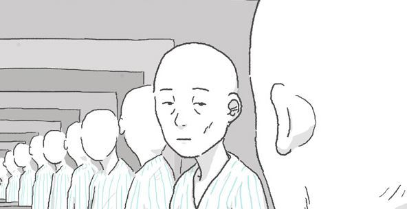 """""""Amanza,"""" a webtoon depicting an end-stage cancer patient, enjoyed popularity in Japan. (Lezhin Entertainment)"""