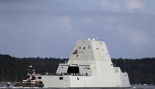 USS Zumwalt (Yonhap)