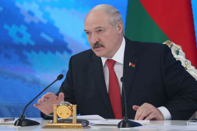 Belarus President Alexander Lukashenko (AFP PHOTO)