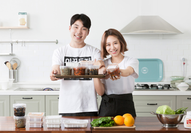 A promotional ad by Baedal Minjok, an online-to-offline platform for food delivery in Korea (Baedal Minjok)