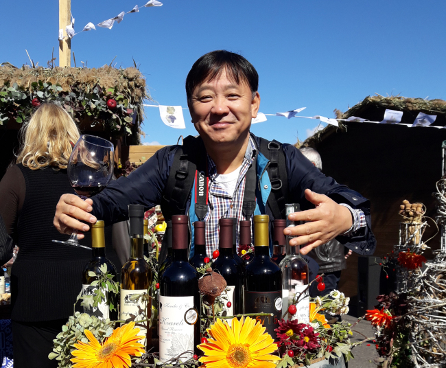 Neil Koh publishes drinks and culture magazine DNC and imports Georgian wines through his company Rusko spirits. (DNC)