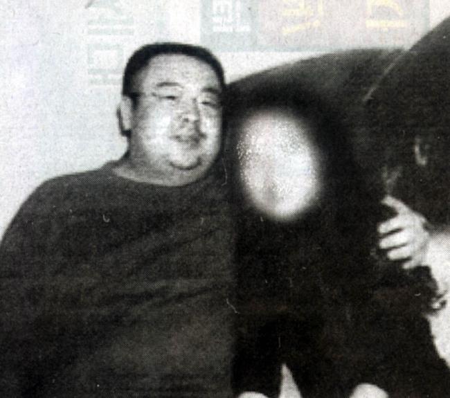 Kim Jung-nam in aphoto in 2000 (Yonhap)