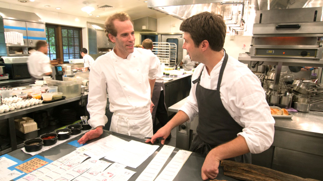 Dan Barber, chef and co-owner of the Blue Hill restaurant in Greenwich Village, New York City (AP Photo)