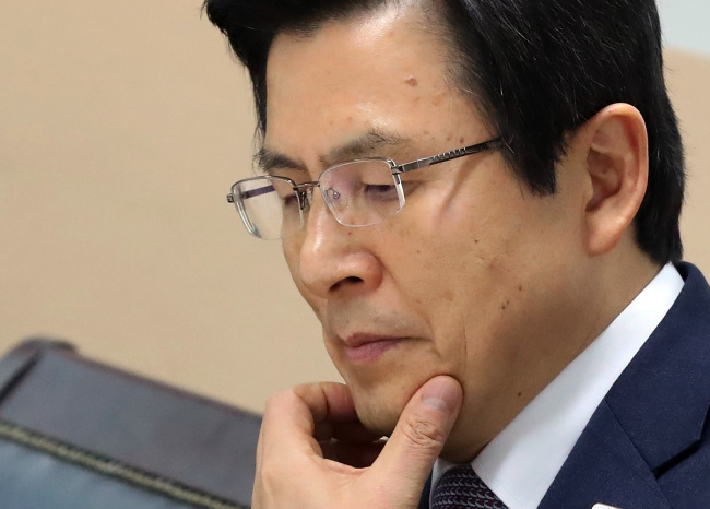 Acting President Hwang Kyo-ahn (Yonhap)