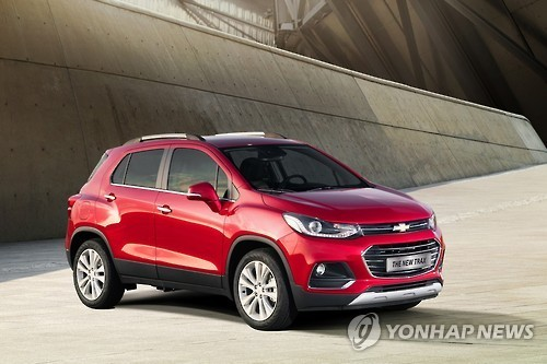 Chevy Trax Becomes Koreas Most Exported Car In 2016