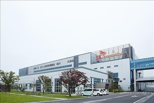 SK Innovation's electric vehicle battery plant in Seosan, South Korea (Yonhap file photo)