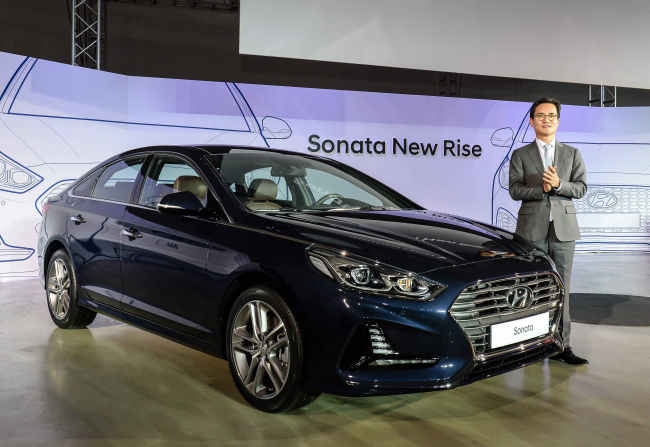 Refreshed 2018 Hyundai Sonata revealed… here later this year