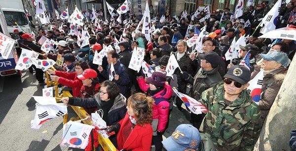 South Korean constitutional court rules President Park Geun-hye must leave office