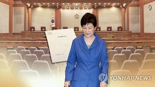 South Korea's president ousted, headed for prosecution