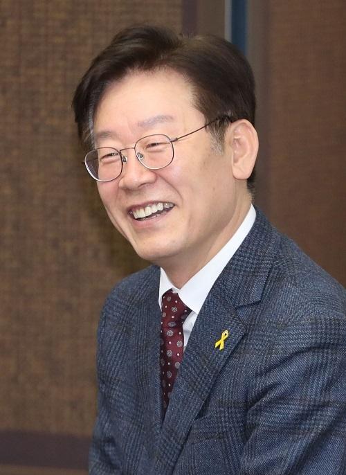 Seongnam Mayor Lee Jae-myung (Yonhap)