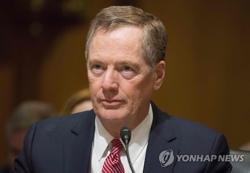 US Trade Representative Nominee Robert Lighthizer (AFP-Yonhap file photo)