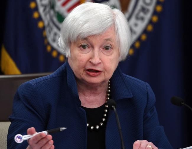 The Fed Chair Janet Yellen