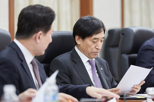 Bank of Korea Governor Lee Ju-yeol (Yonhap)