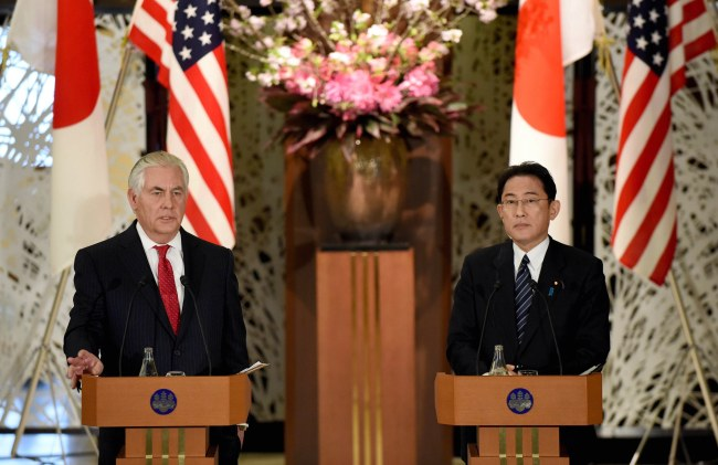 Pre-Emptive Action 'on the Table' for North Korea Threat — Tillerson