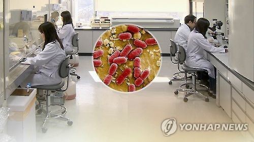 The Ministry of Health and Welfare said on March 17 it will designate two super bacteria -- the Vancomycin resistant Staphylococcus aureus and carbapenem-resistant Enterobacteriaceae -- that are resistant to certain antibiotics as level-three diseases. (Yonhap)