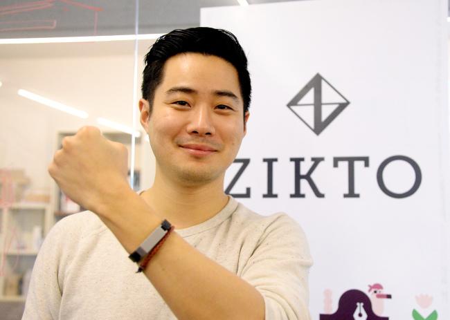 Zikto founder and CEO Ted Kim (Park Hyun-koo/The Korea Herald)