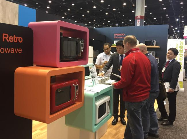 Dongbu Daewoo shows new home appliances for US