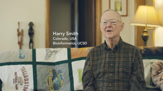 Harry Smith, a student on Massive Open Online Course platform Coursera, talks about his learning experience on a video released on April 20, 2016. (Screen captured from YouTube)