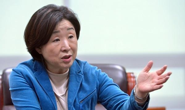 Sim Sang-jeung (Lee Sang-sub/The Korea Herald)