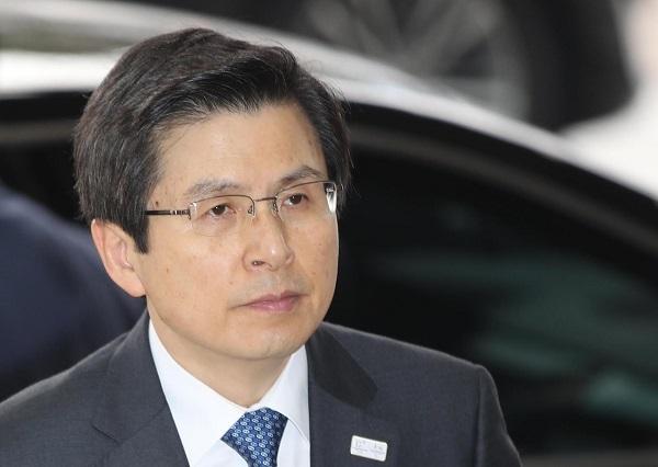South Korean Acting President and Prime Minister Hwang Kyo-ahn (Yonhap)