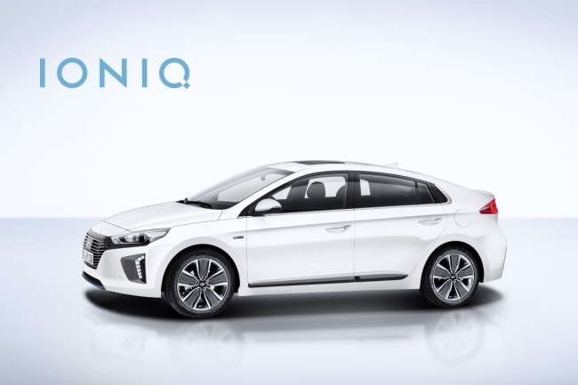 Hyundai Motor's electric vehicle Ioniq (Hyundai Motor)