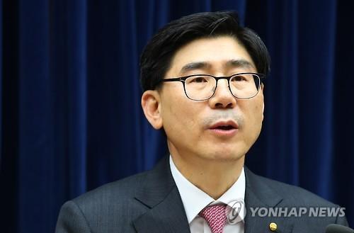Woori Bank CEO Lee Kwang-goo (Yonhap)